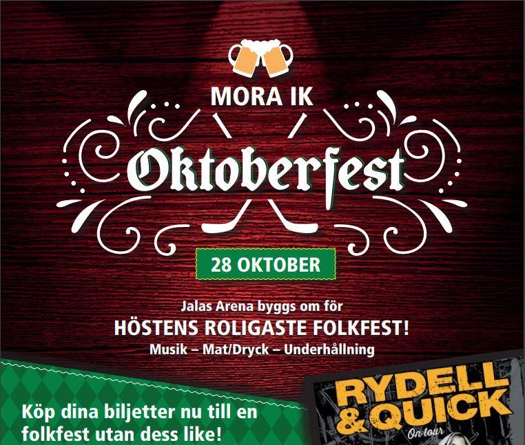 Oktoberfest Jalas Arena Mora