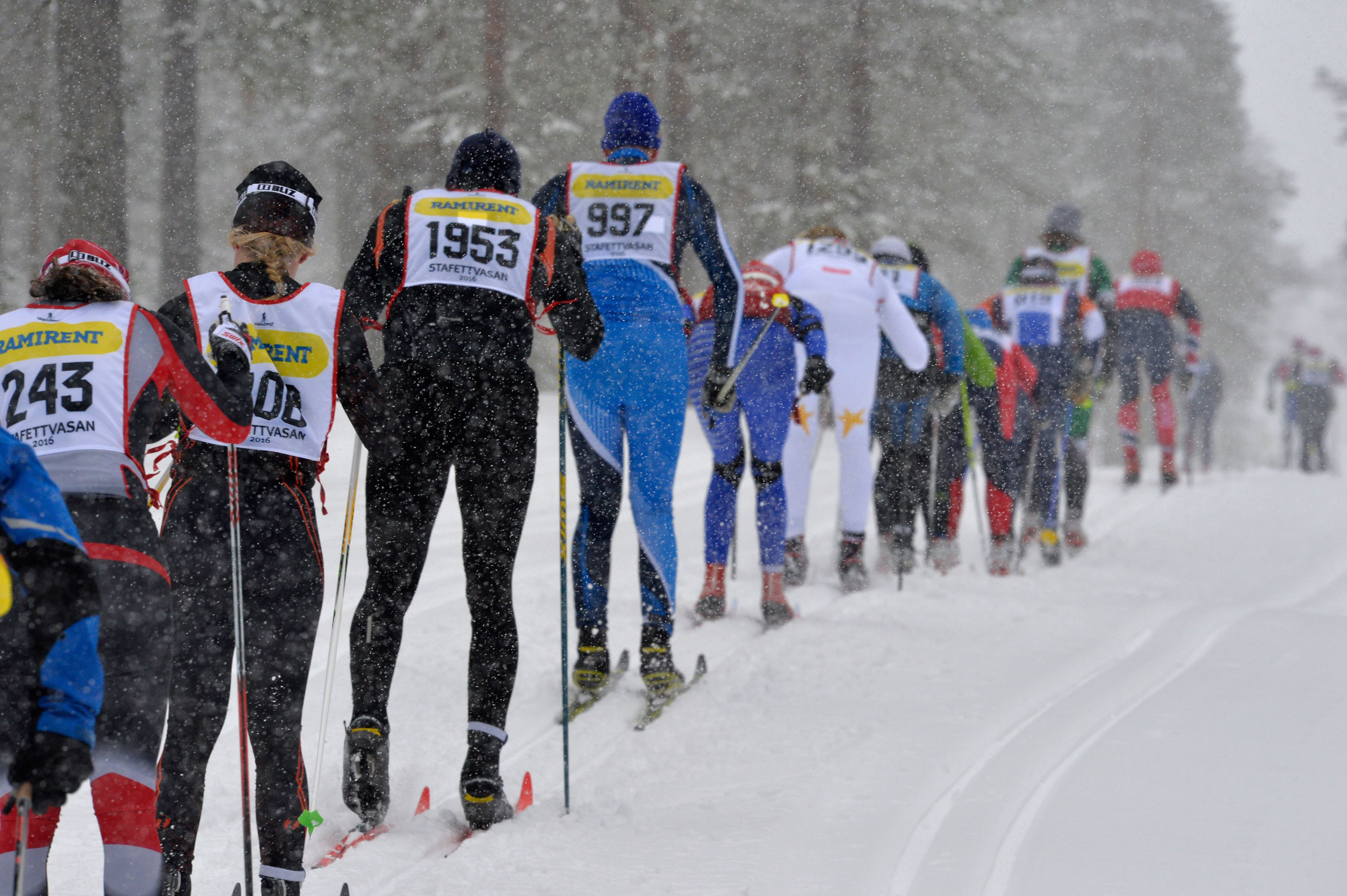 StafettVasan - Relay race on skis