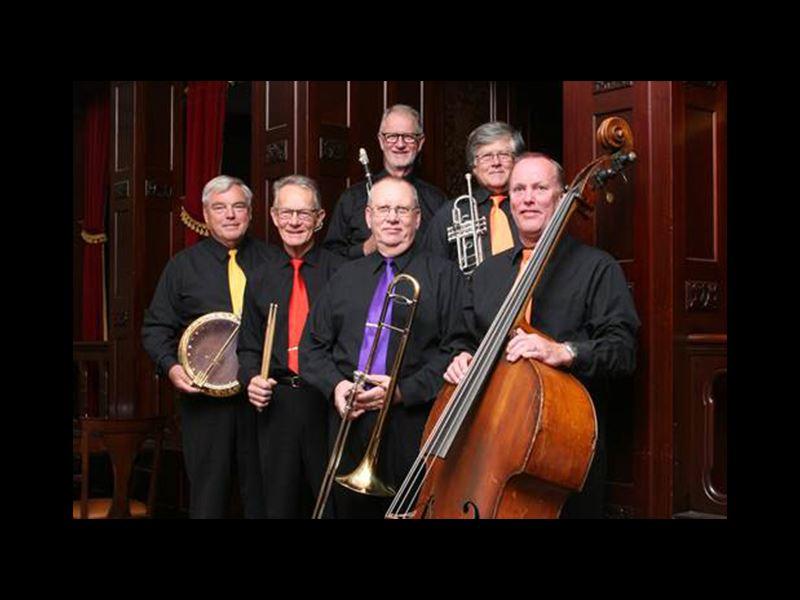 Konsert med Sir Bourbon Dixieland band