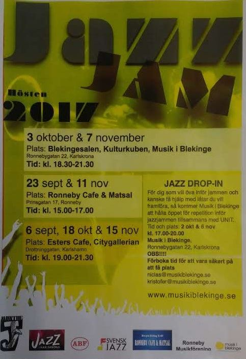 Jazz Jam hösten 2017