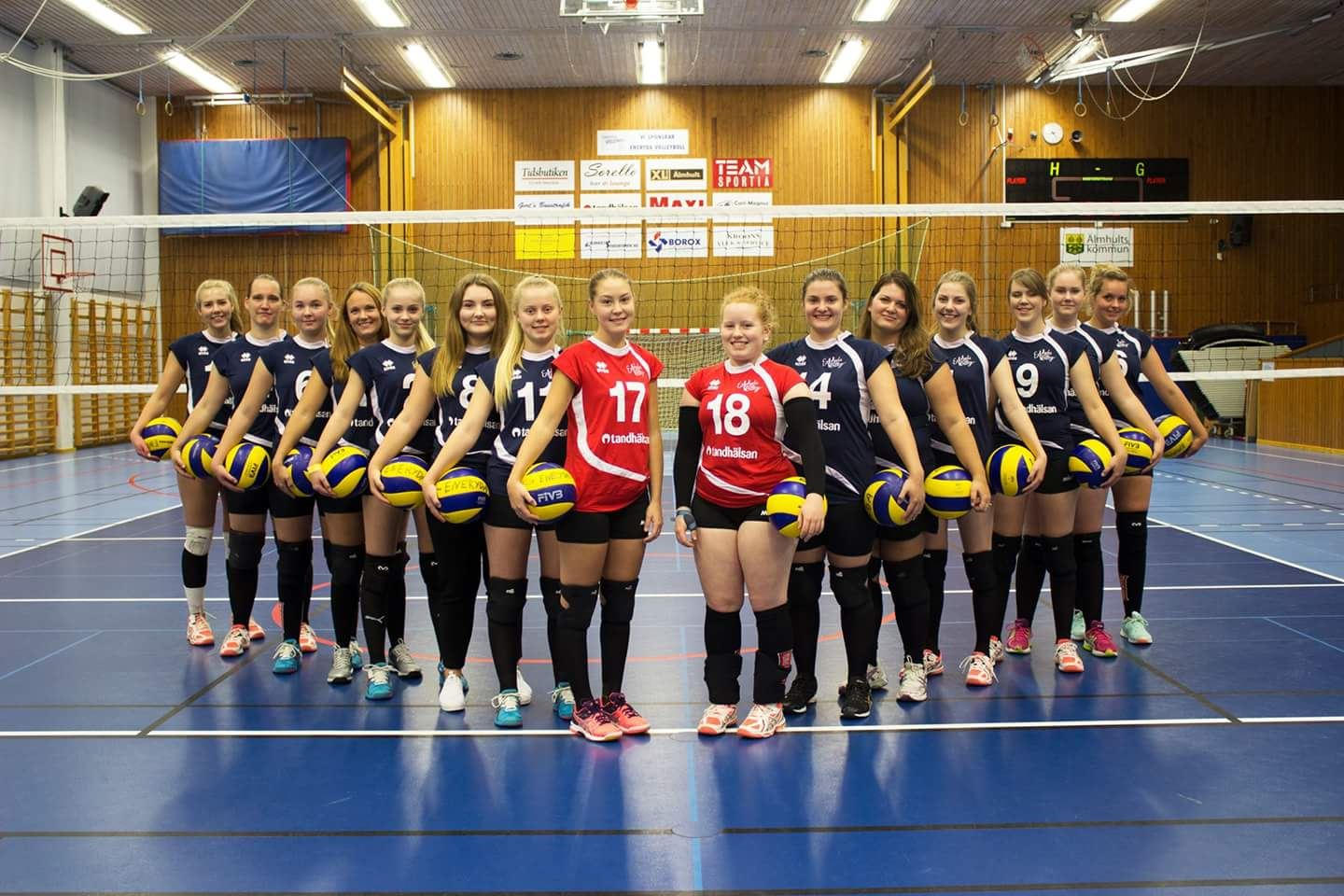 Volleyboll damer