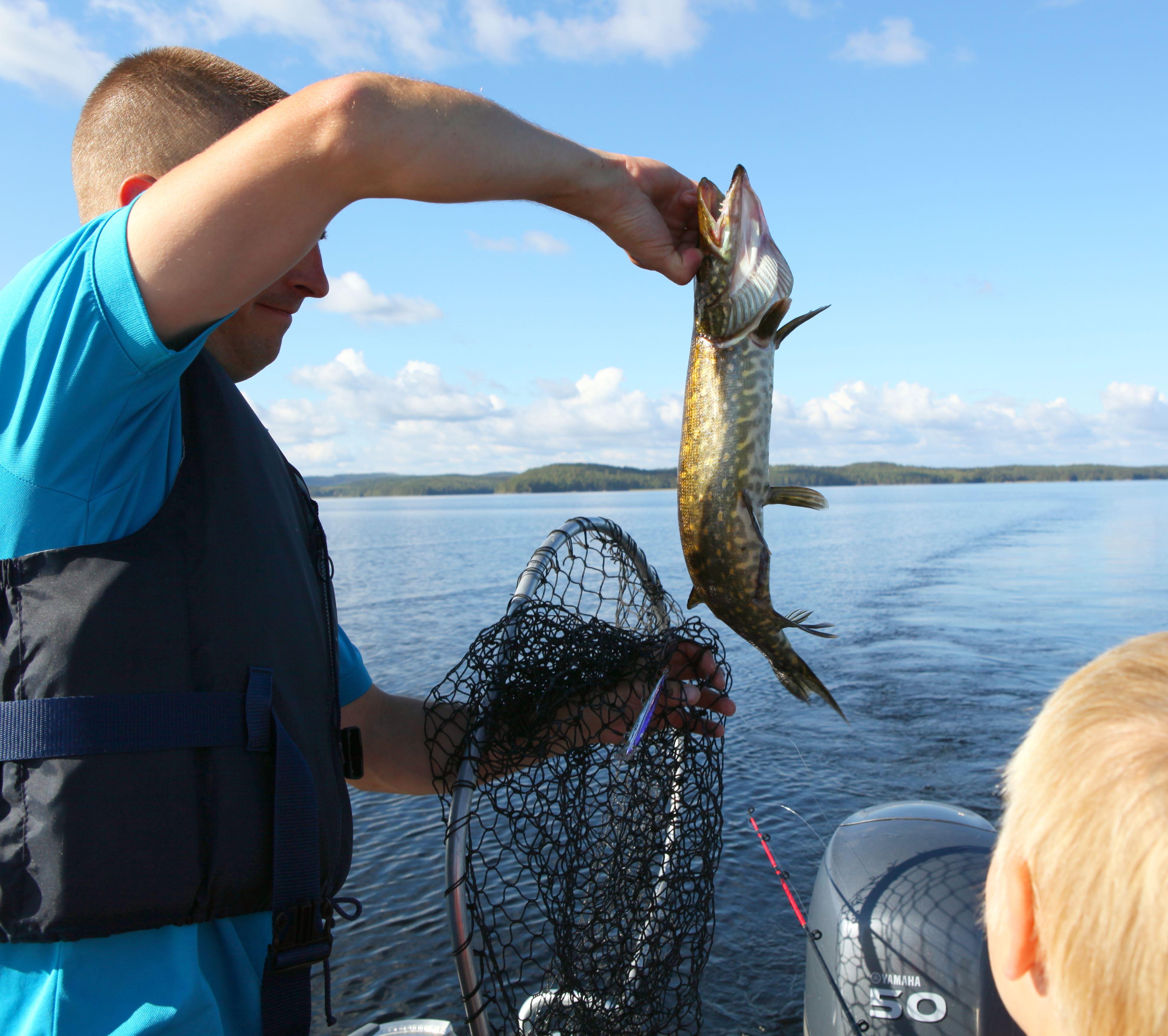 Lake Päijänne Fishing Adventure | Kiuasniemi Marina