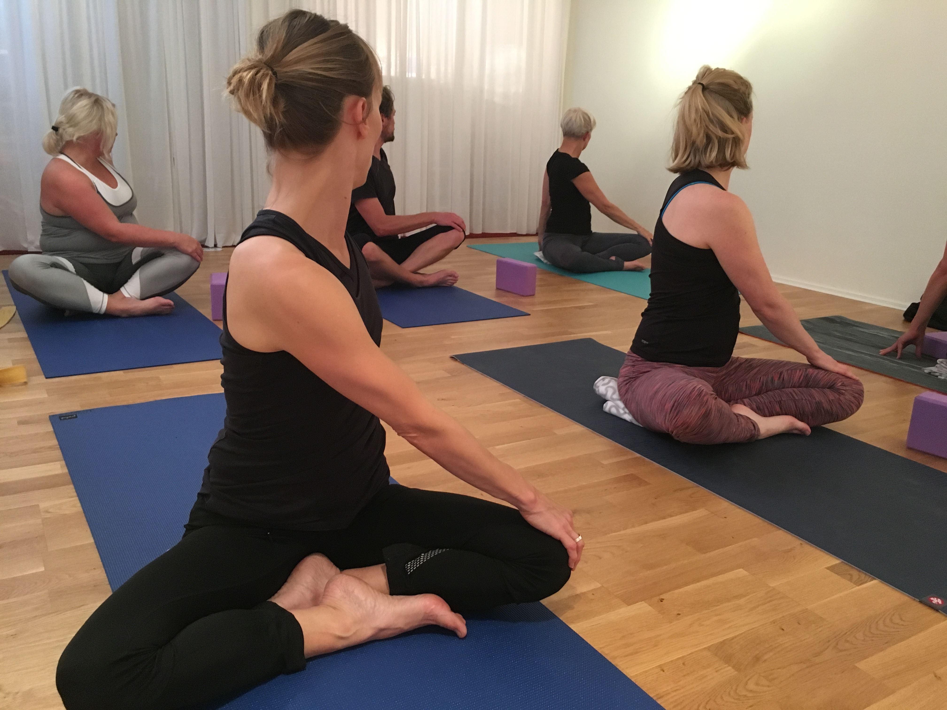 Viryayoga - fysiskt flödande yoga, avancerad