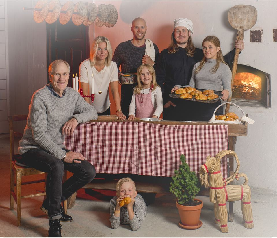 Mysig jul med Familjen Sigfridsson