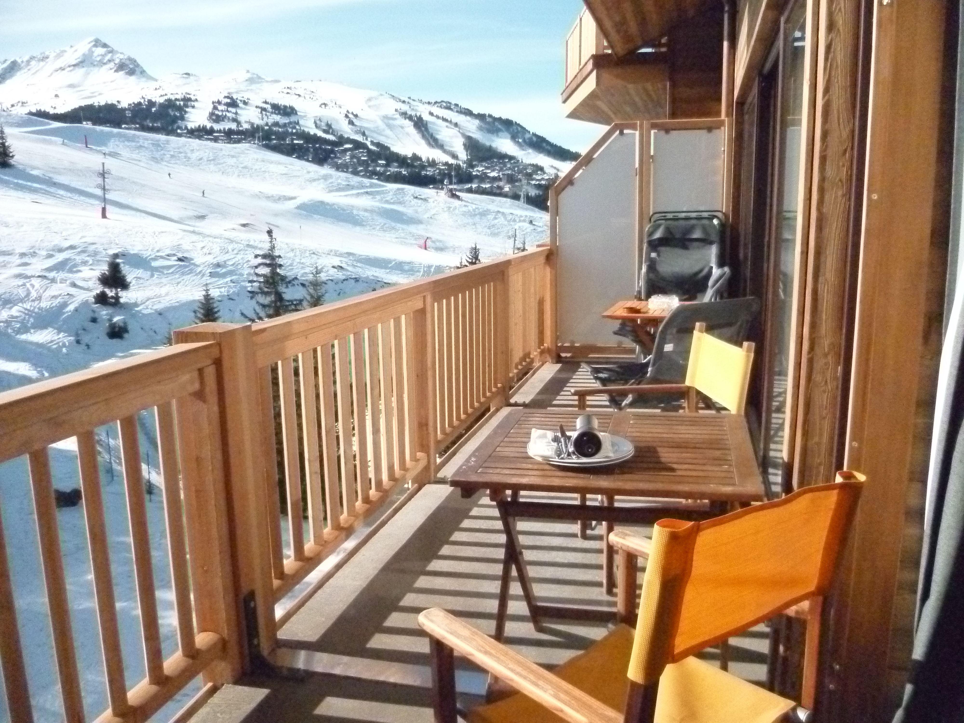 5 pièces 10 personnes skis aux pieds / ROC MERLET (montagne de rêve)
