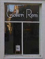 Galleri Remi,  © Galleri Remi, Fönster till ateljen på Galleri Remi