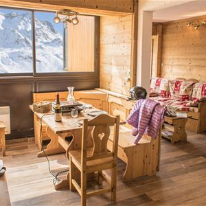 VANOISE 556 / APARTMENT 3 ROOMS CABIN 6 PERSONS - 2 SILVER SNOWFLAKES - VTI