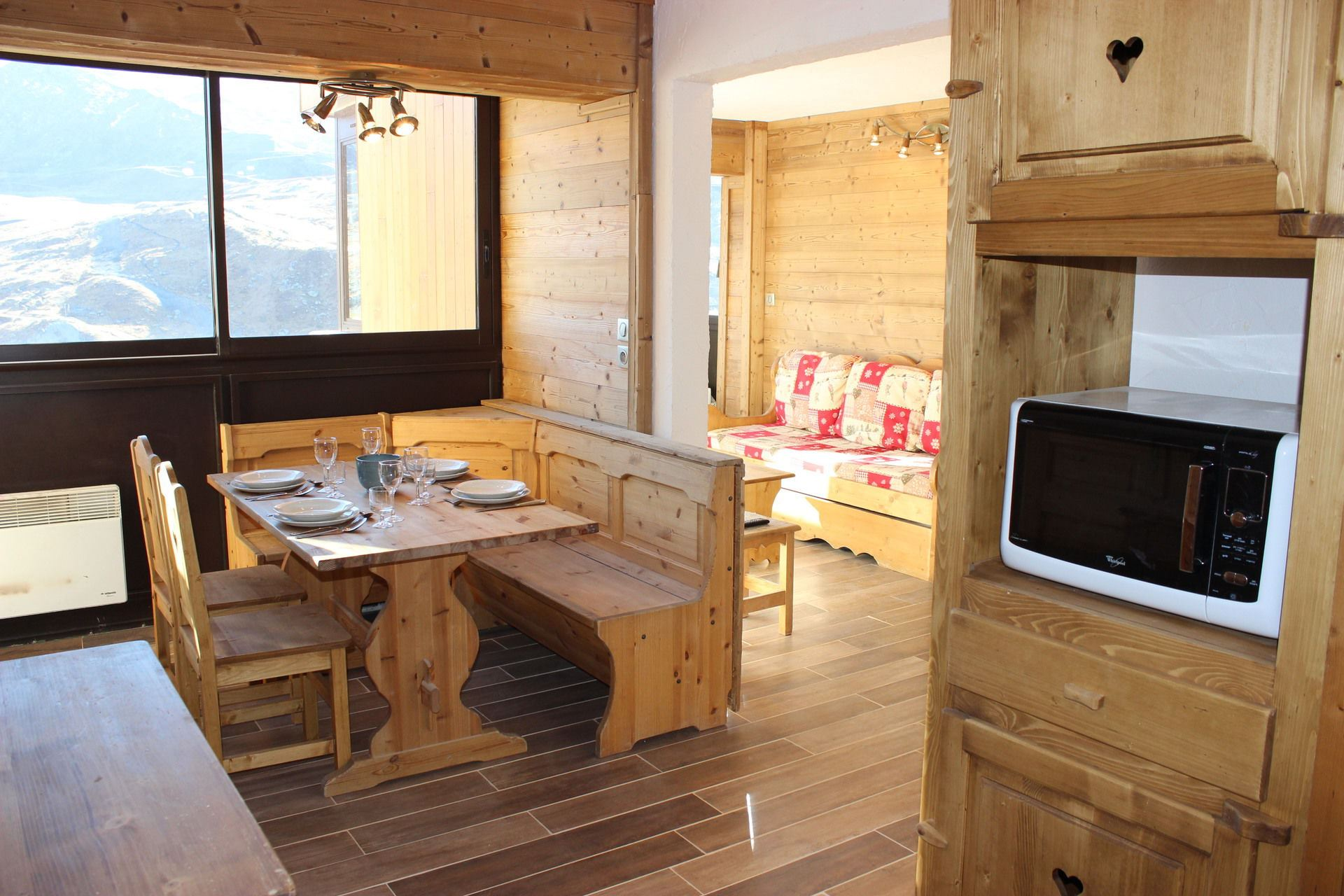 VANOISE 556 / 3 ROOMS CABINE 6 PERSONS GRAND CONFORT - VTI