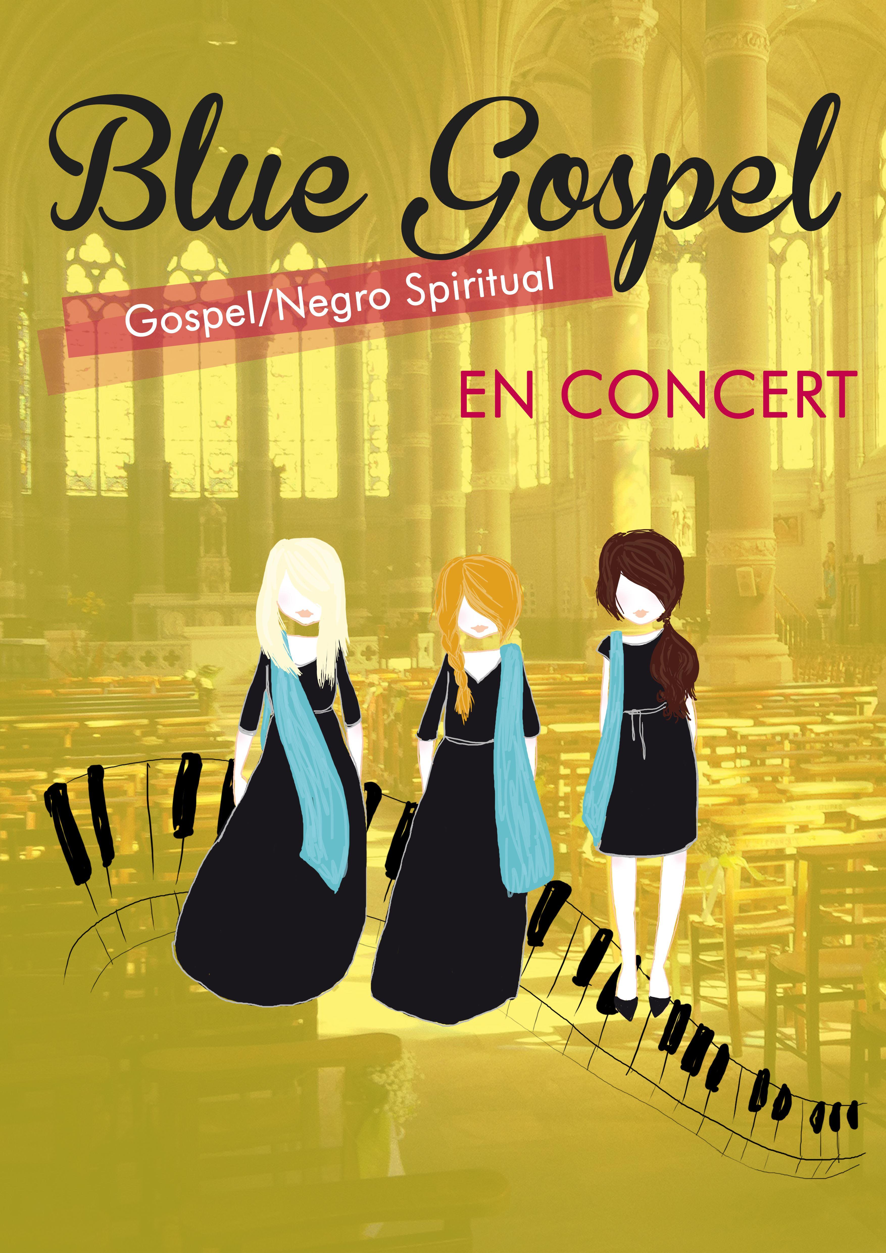 FESTIVAL CHANTS D'ELLES : Blue Gospel, jeudi 23 novembre