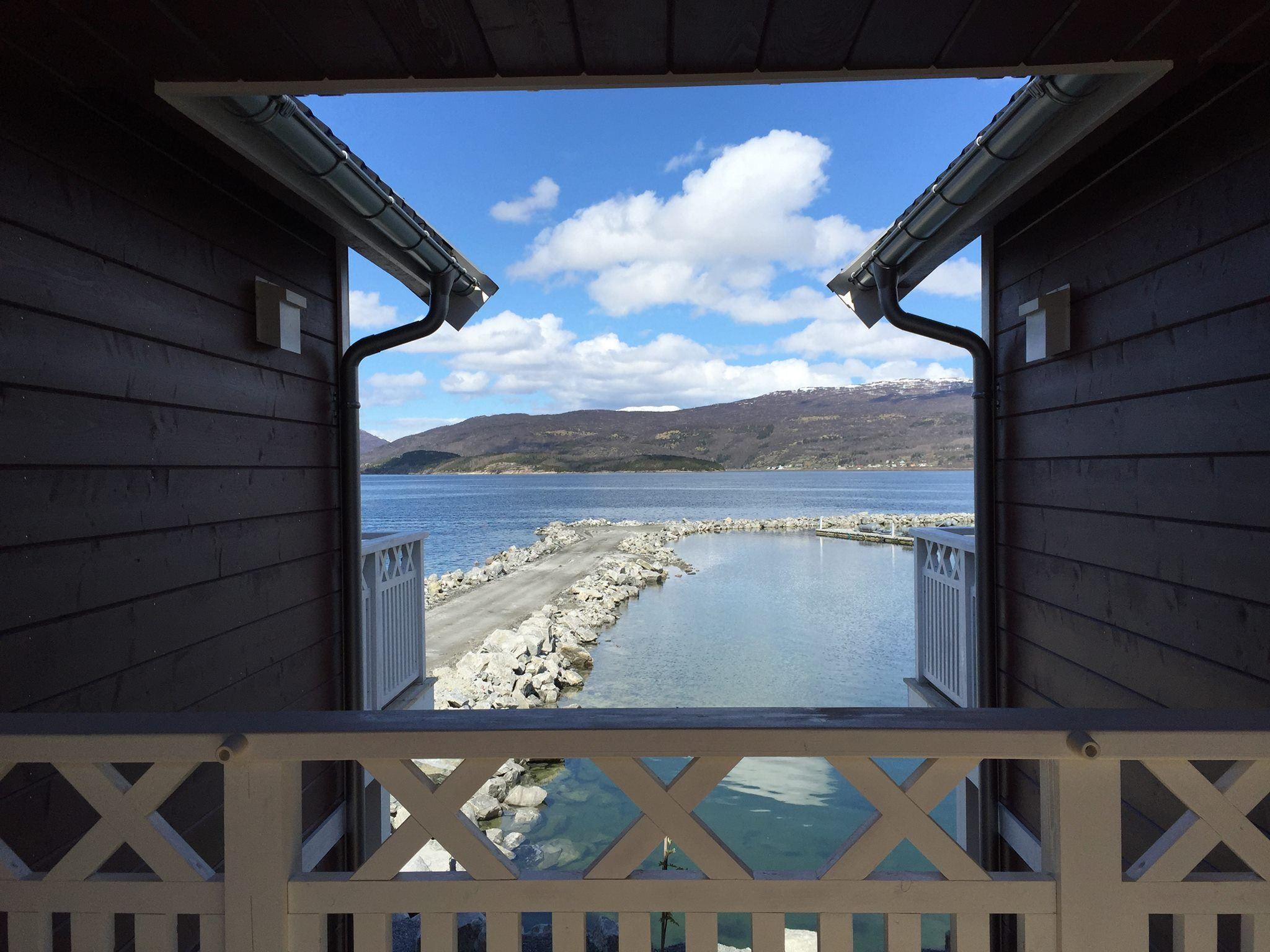 Garsnes Brygge,  © Garnses Brygge, Garsnes Brygge Rorbu utsikt