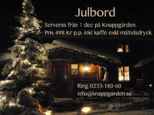 Julbord på Knappgården