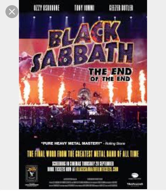 Live-inspelning av konsert med Black Sabbath