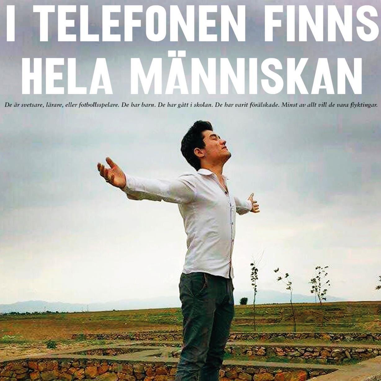 I telefonen finns hela människan
