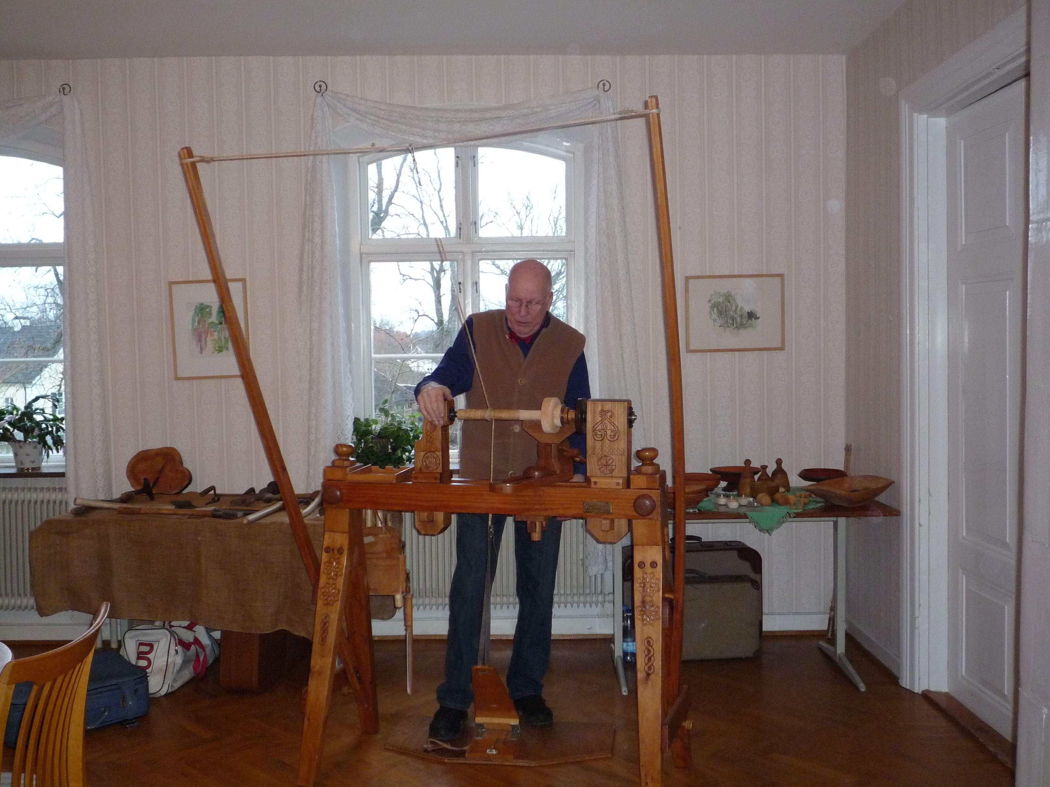 Höstmarknad med lokalt hantverk och mathantverk