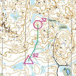 Training Map Bergsjön (FootO)