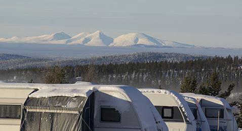 Idre Fjäll, Camping Idre Fjäll