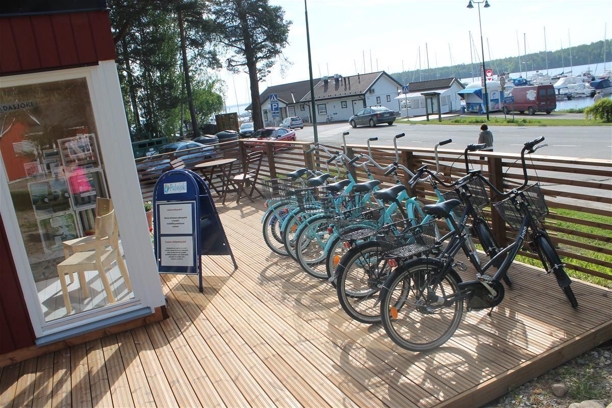 Rental bikes | Padasjoki Tourist Information in Kiuasniemi Marina