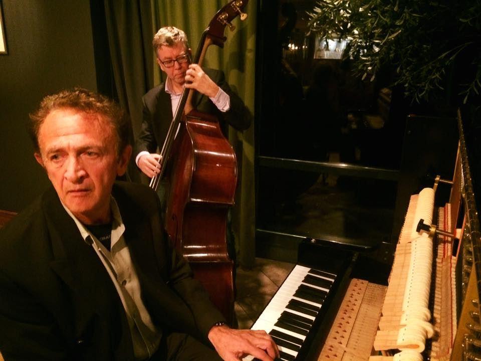Jazz med Vladimir Shafranov och Kjell Dahl i Oliven restaurang & bar