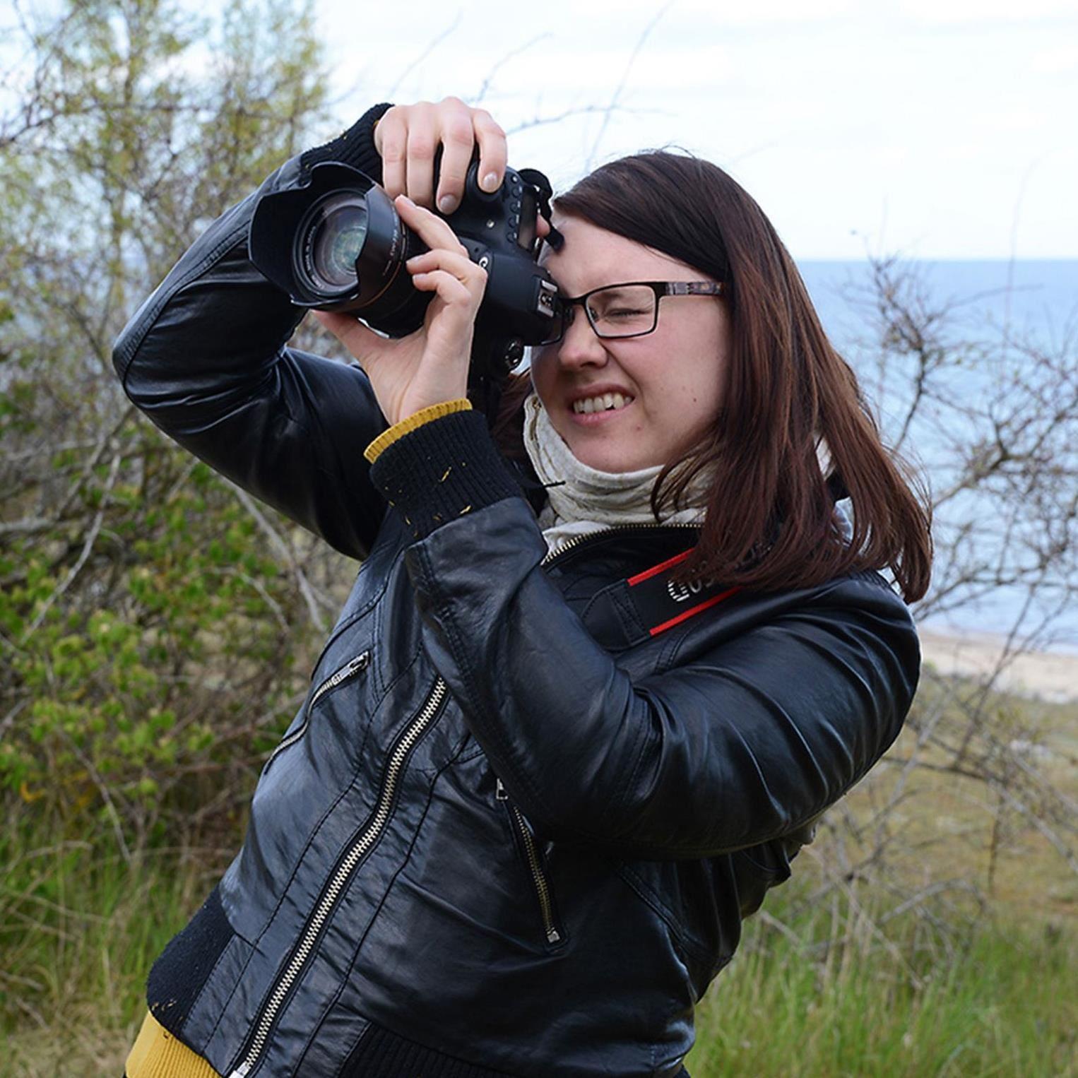 Eva Hallkvist, Fotokurs för nybörjare