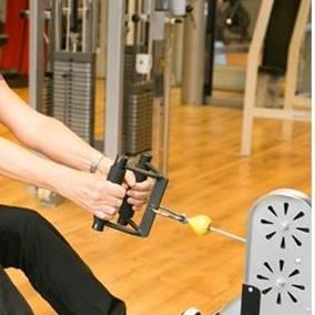 Träna på gymmet