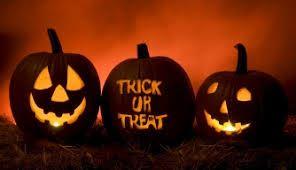 Halloween skoj för de yngre Trick & Treat