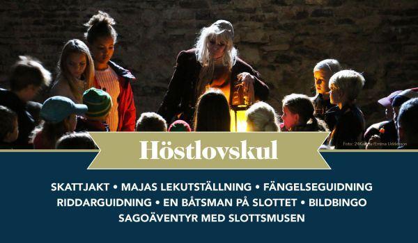 Höstlov och kulturvecka på Kalmar Slott