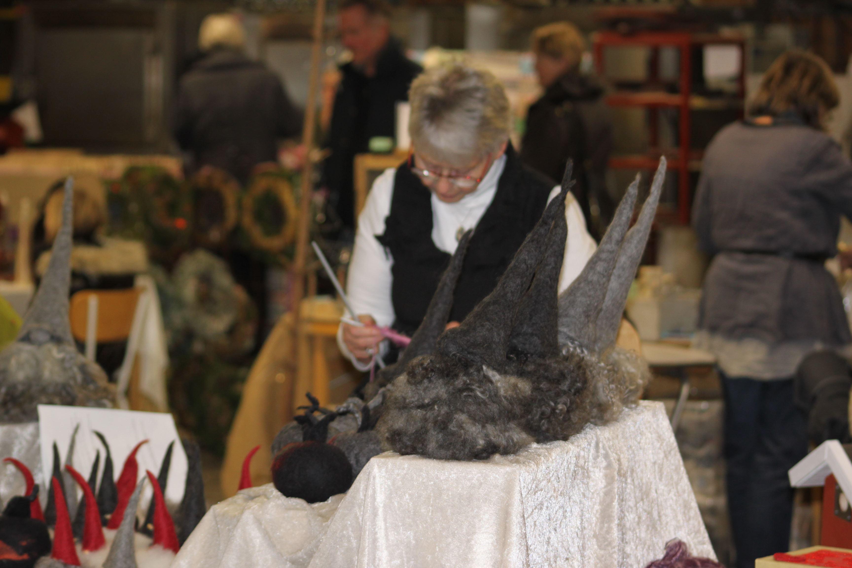 Höstmarknad i Bergdalahyttan