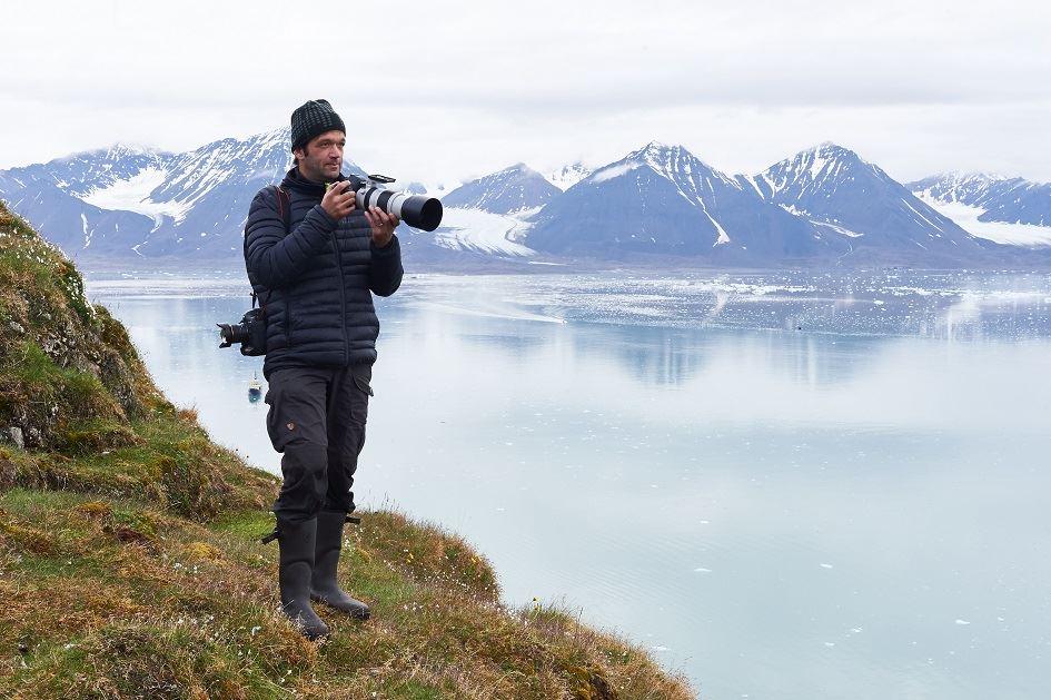 Arktis, liv i en värld av is och snö, med Felix Heintzenberg