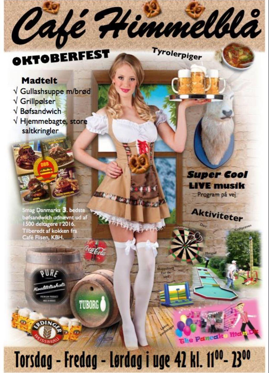 Oktoberfest i Café Himmelblå