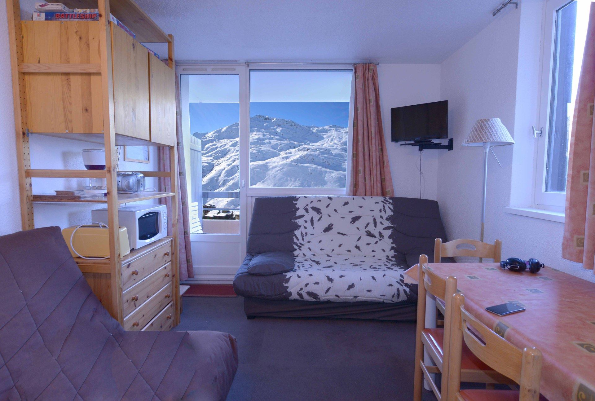 Studio 4 pers 150m des pistes / MEDIAN 101