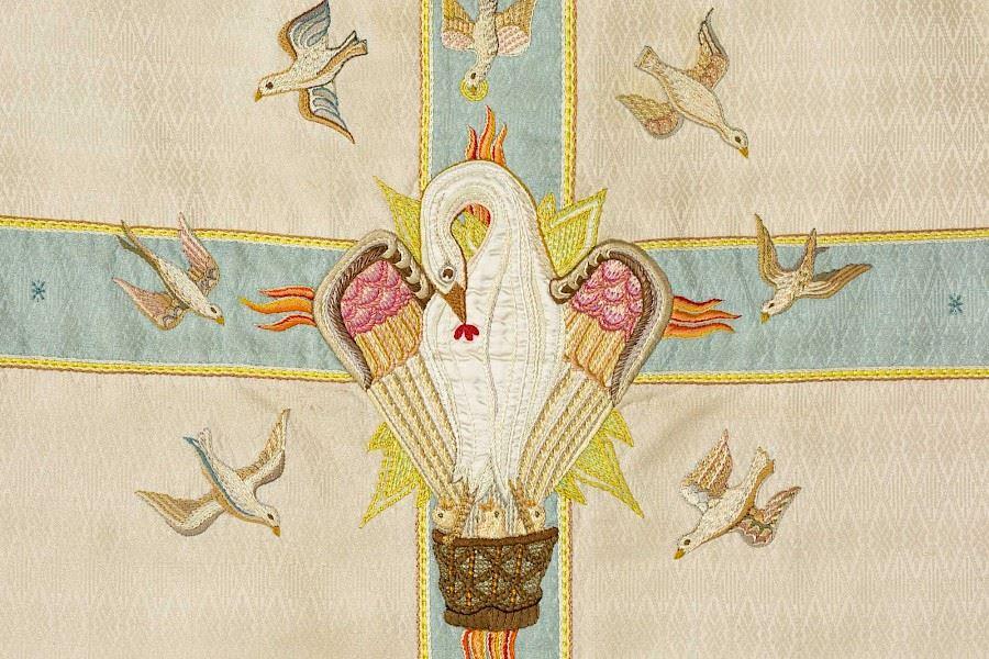 Gudomliga skapelser - Kyrkliga textilier från Växjö stift