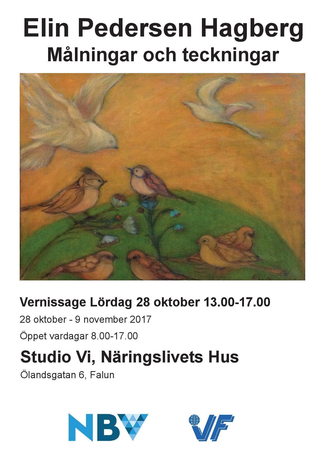 Elin Pedersen Hagberg på Studio Vi