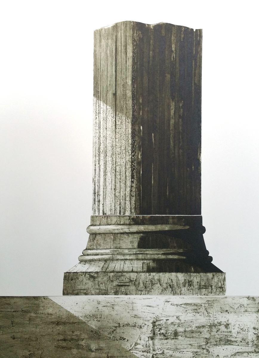 """Utställning: Ellen Cronholm, """"PLATS"""", grafik  Utställningen pågår 11/11-3/12"""