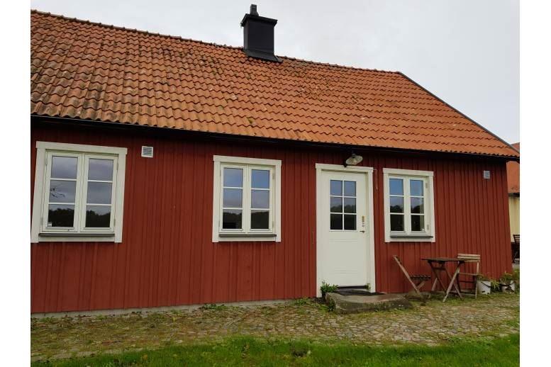 Övarp - Booth on the farm Enelund.