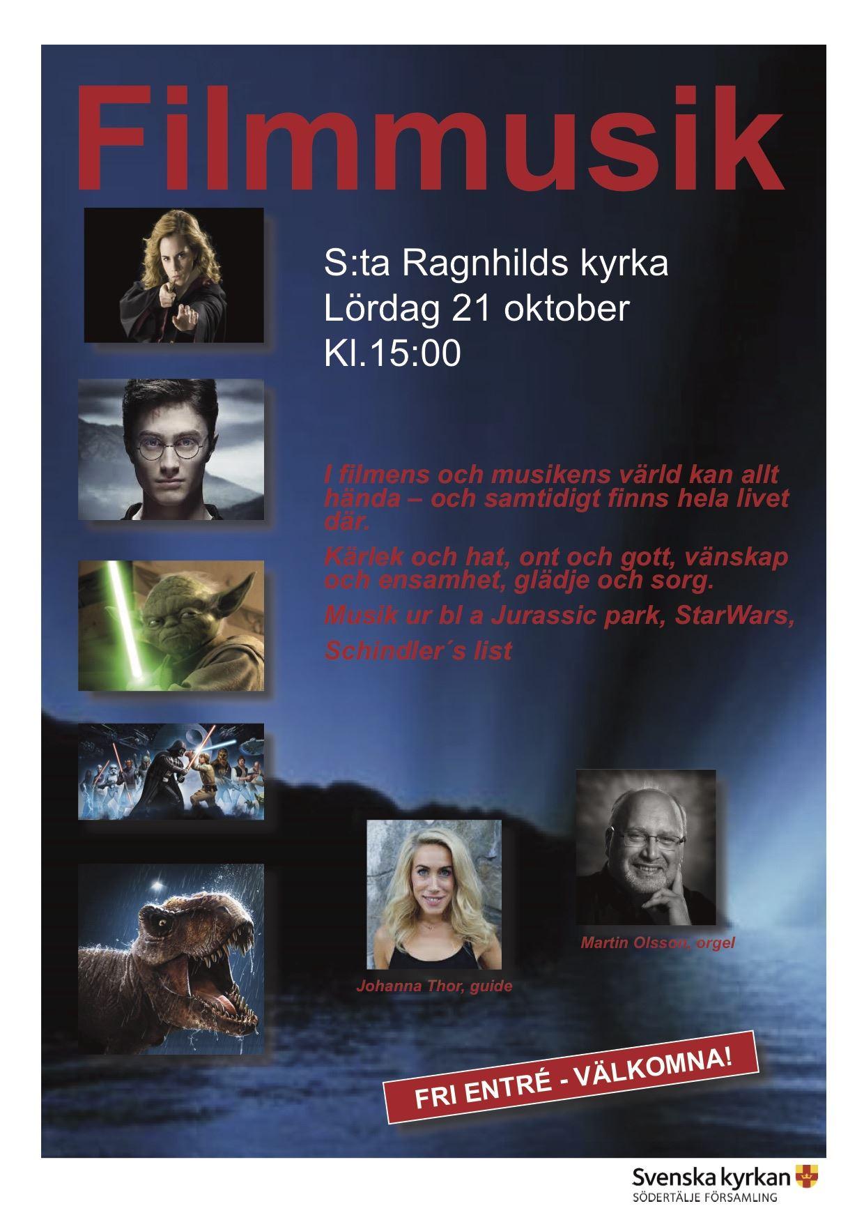 Filmmusik i S:ta Ragnhilds kyrka