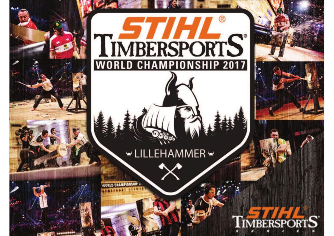 Verdensmesterskapet i STIHL Timbersports Lillehammer 2017