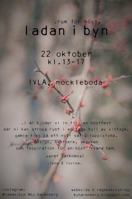 Herbstfest in Ivla...Ladan i byn