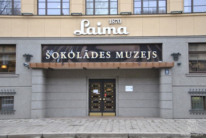 "Tour to Chocolate Fabric ""Laima"""