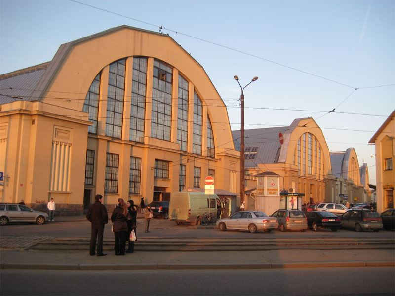 Tour to Riga Central Market