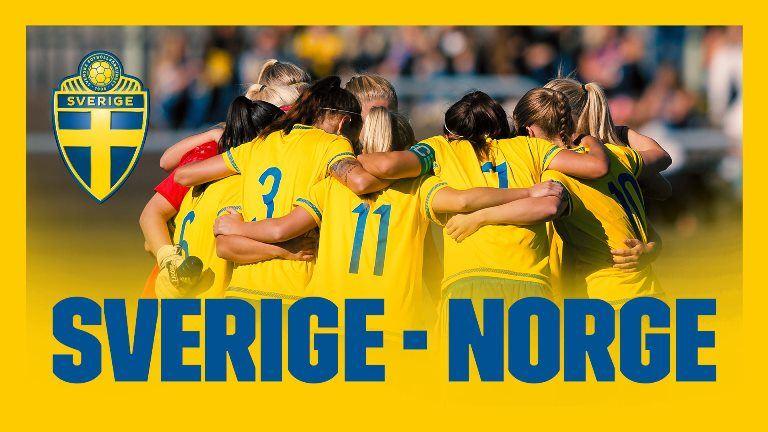 Sverige-Norge U23-Fotbollsmatch på Gavlevallen!
