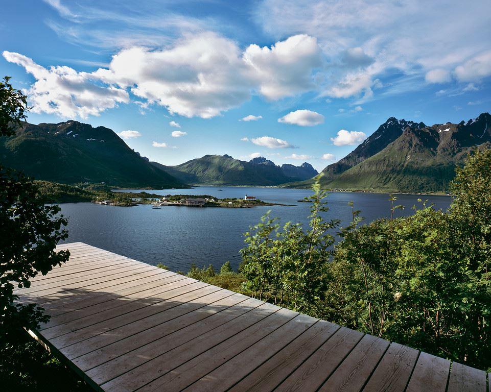 Vegar Moen, Nasjonal turistveg Lofoten
