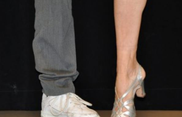 © Copy: OSD, Bild på balettsko