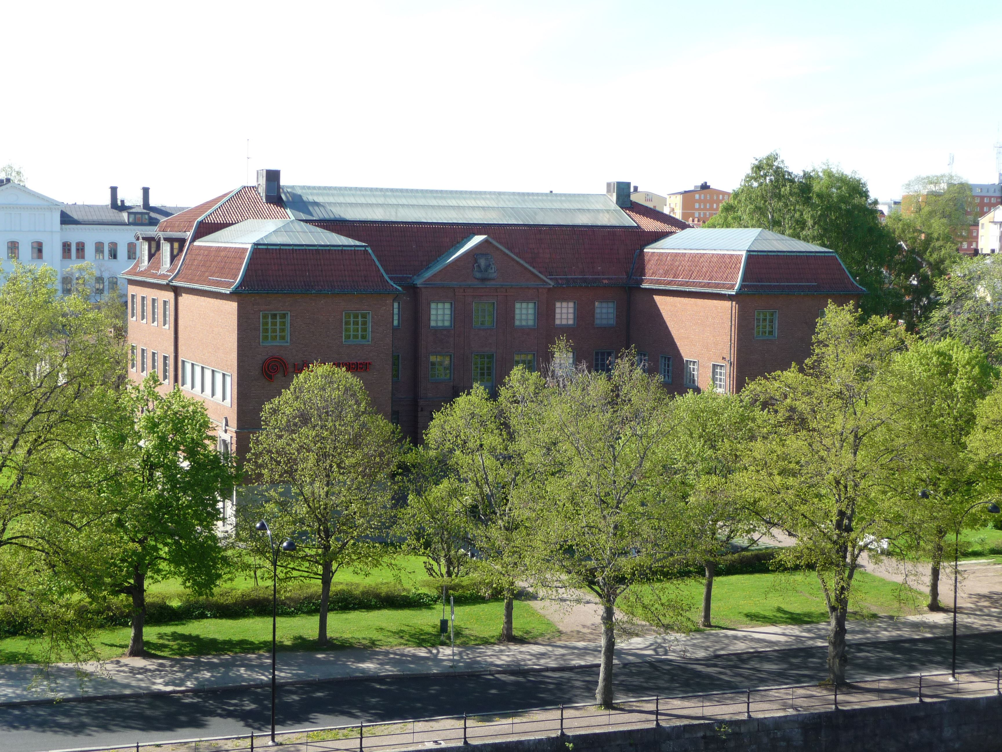 © Länsmuseet Gävleborg, Länsmuseets byggnad på Söda Strandgatan 20 i Gävle.