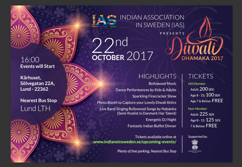 Mega Indian Damakha Festival Diwali 2017