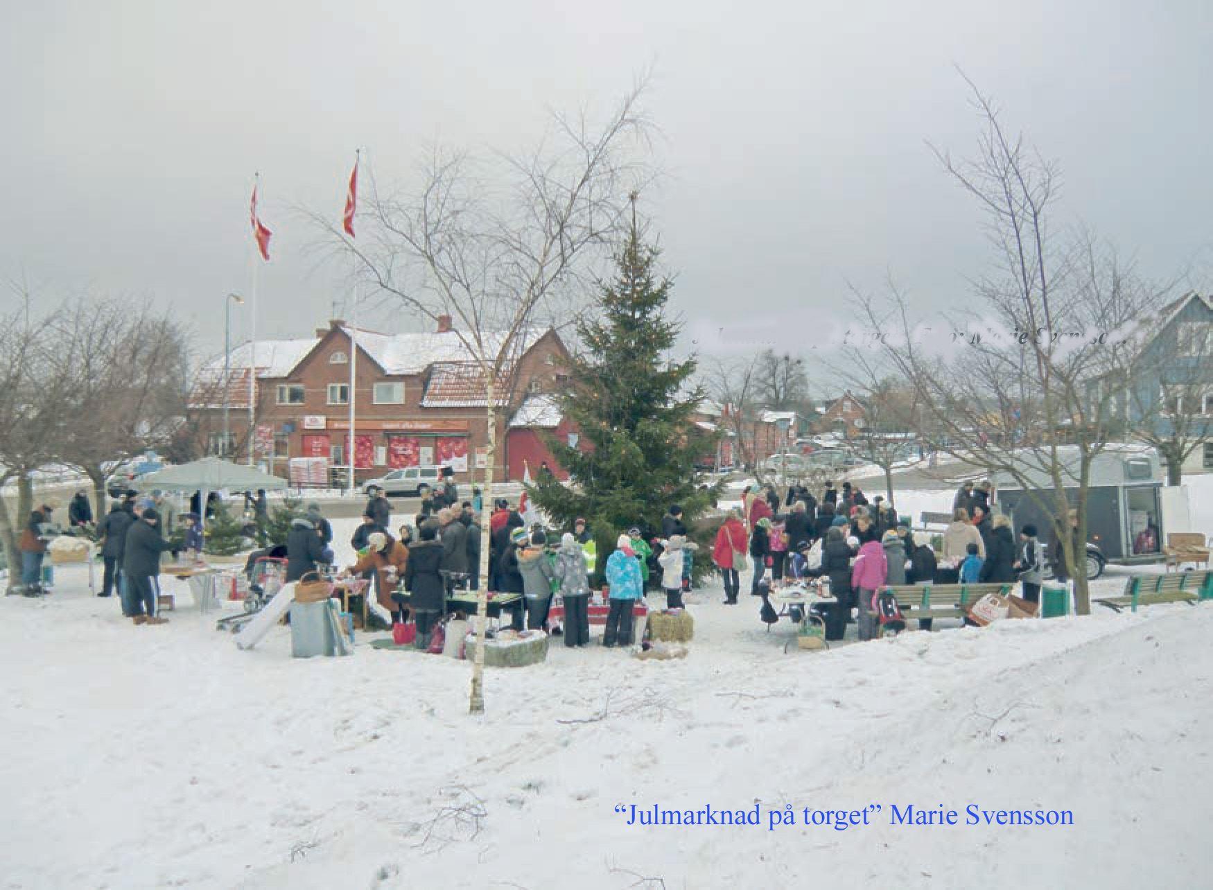 Julmarknad i Hjärnarp