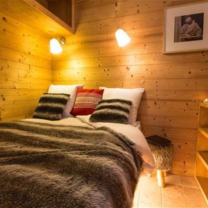 Lauzières 315 > Apartment + Cabin - 4 People - 3 Gold Snowflakes (Ma Clé IMMO)