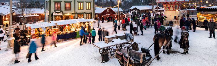 Erik Westberg,  © Sveriges Järnvägsmuseum, Julmarknad i Jamtli
