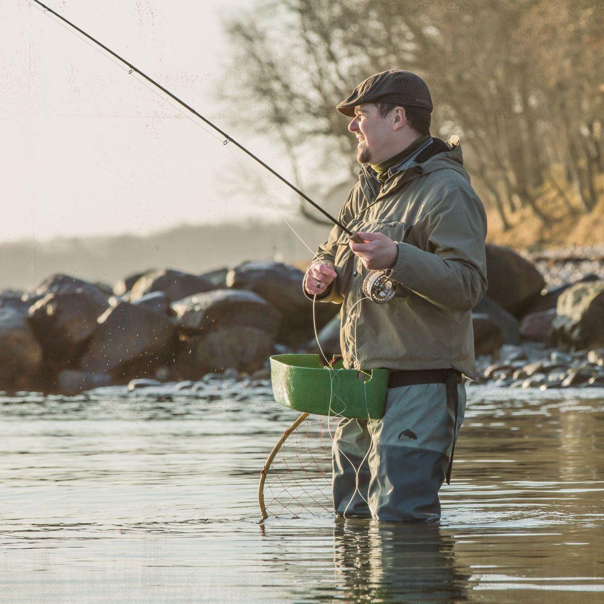Guidet fisketur - fluefiskeri