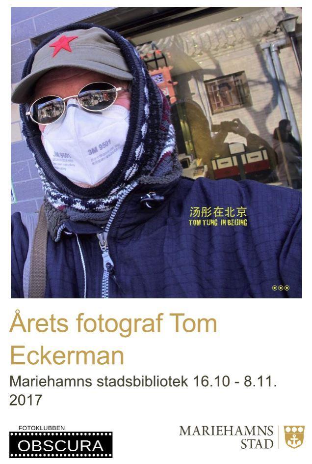 Fotoutställning: Årets fotograf Tom Eckerman