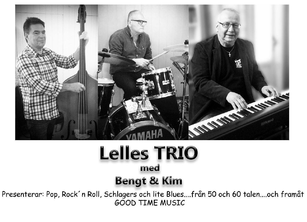 Lelles Trio med Bengt o Kim